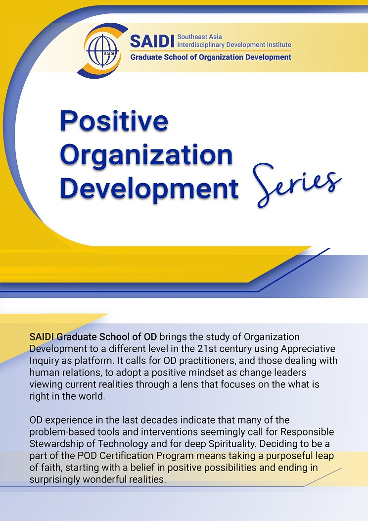 saidi graduate school of organization development